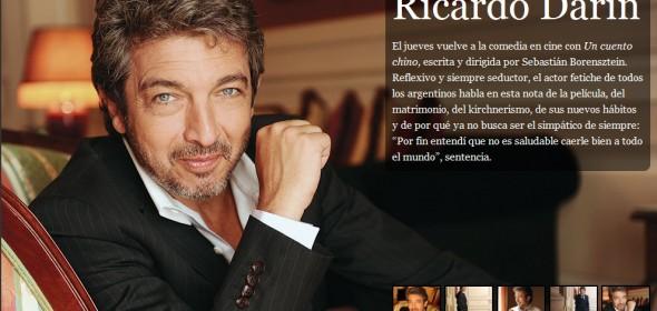 Ricardo Darín en Revista Luz por «Un Cuento Chino»