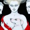 Renata Schussheim y su mundo de líneas que acarician el papel (Clarín)