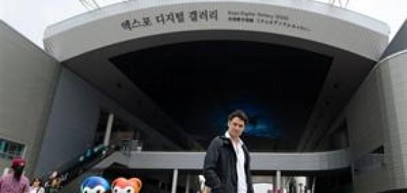 Yeosu recibe a artistas argentinos (Iñaki Urlezaga en diario La Nación)