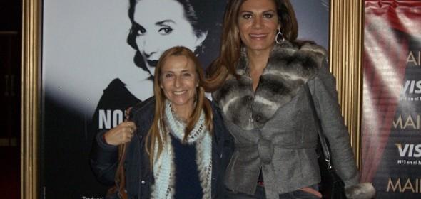 Flor de la V y Gradys Florimonte vieron «Master Class» de Norma Aleandro en el Maipo