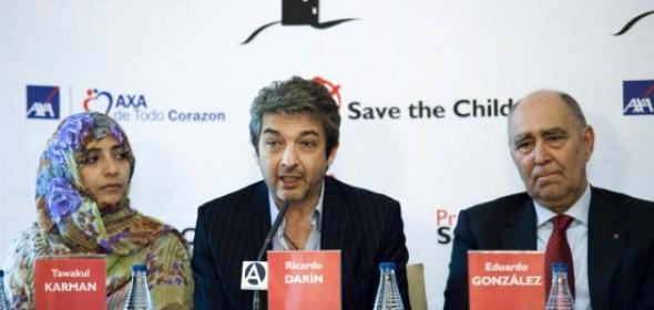 Ricardo Darín, premiado por Save the Children 2012