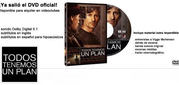 Salió a la venta el DVD de «Todos Tenemos Un Plan»