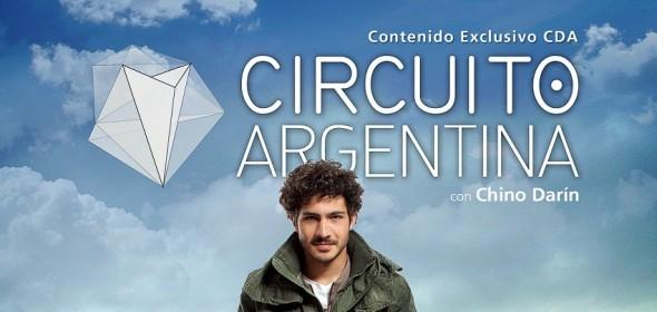 Circuito Argentina / Chino Darín / America / desde el domingo 5 de enero / 11.30hs