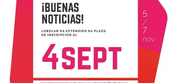 LoboLab prorroga la fecha de inscripción hasta el 4 de septiembre